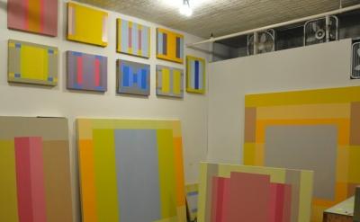 Matthew Neil Gehring, Studio View, 2013 (courtesy of the artist)