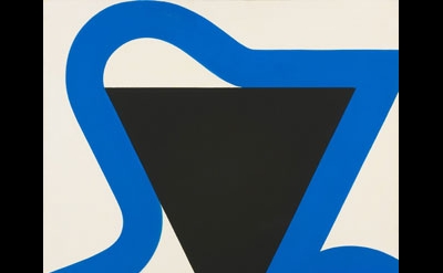 Georg Karl Pfahler, Meta-Leda Nr.IV, 1982, Acrylic on canvas, 200 x 200cm (court