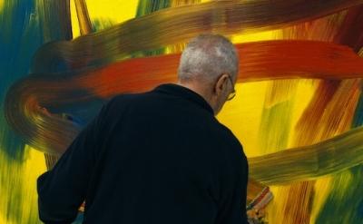 Film still Gerhard Richter Painting