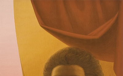 George Tooker, Girl in the Window, c. 1978, egg tempera on gesso panel (courtesy