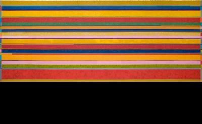 Gonçalo Ivo, Santa Maria de Taull, 2009, 260 x 650 cm, oil on linen