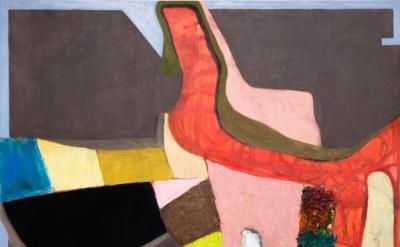Brenda Goodman, Ishy, 2016, oil on wood, 52 x 60 inches (courtesy of Jeff Bailey Gallery)