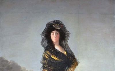Francisco Goya y Lucientes, Duchess of Alba, 1797 (The Hispanic Society of Ameri