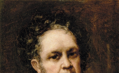 Francisco Goya, Self-Portrait, 1815 (Museo Nacional del Prado, Madrid)