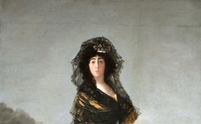 Francisco de Goya, The Duchess of Alba, 1797 (© Courtesy of The Hispanic Society