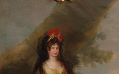 Francisco José de Goya y Lucientes, The Countess of Fernán Núñez, 1803