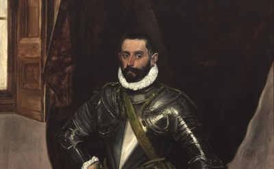El Greco, Vincenzo Anastagi, 1575 (Image courtesy Michael Bodycomb/ The Frick C
