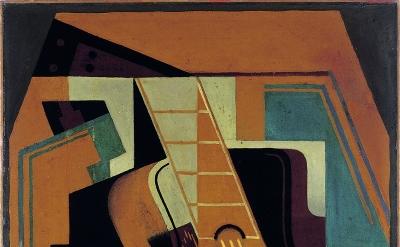 Juan Gris, The Guitar, 1918, oil on canvas, 81 x 59 cm (Colección Telefónica, 10/113 CC 200 © Fernando Maquieira)