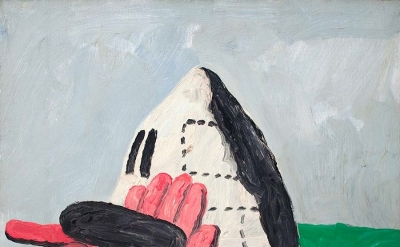 Philip Guston, Drive, 1969, oil on panel 26 1/2 x 24 inches (courtesy of McKee G