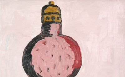 Philip Guston, Light Bulb, oil on panel, 12 x 14 inches