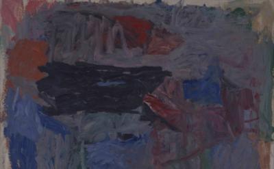 Philip Guston, Path II, 1960, oil on canvas, 62 1/2 x 71 1/2 inches  (Private Co