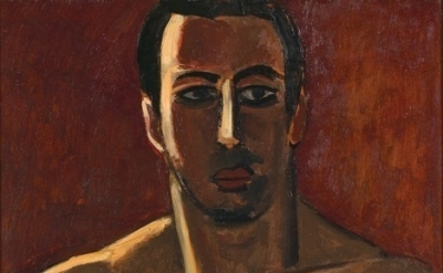 Marsden Hartley, Madawaska, Acadian Light-Heavy, Third Arrangement, 1940, oil on