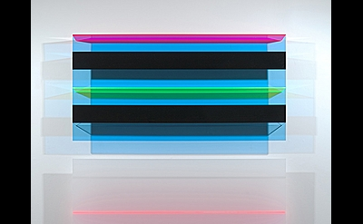 Christian Haub, A Float for Isaac Guillory, 2013, cast acrylic, 80 x 48 x 4 inch