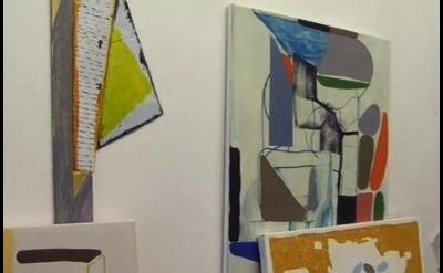 Vincent Hawkins, studio view