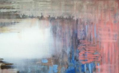 Painting by Kylie Heidenheimer (photo: Elisabeth Condon, courtesy of the artist)