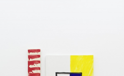 Installation view: Mary Heilmann and David Reed, Two by Two, Hamburger Bahnhof –