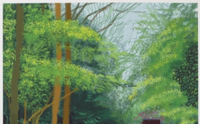 David Hockney, The Arrival of Spring in Woldgate, East Yorkshire in 2011 (twenty