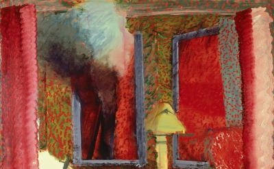 Howard Hodgkin, Interior with Figures, 1977-1984 (Private Collection/Howard Hodgkin)