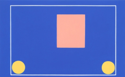Ridley Howard, Blue Yellow, 2011, oil on linen, 11 x 17 inches (courtesy Leo Koe