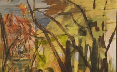 Vera Iliatova, Days Of Never, 2013, oil on canvas, 78 by 60 inches (courtesy of