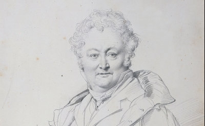 Jean-Auguste-Dominique Ingres (1780-1867), Portrait of Guillaume Guillon Lethier
