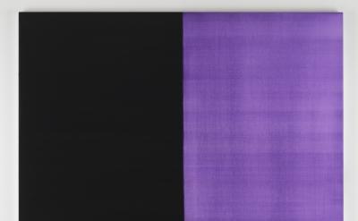 Callum Innes, Untitled no 31, 2012, oil on linen, 160 x156cm (courtesy Frith Str