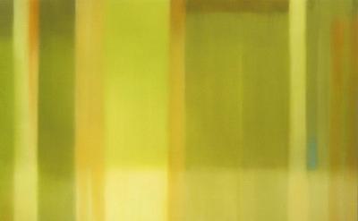 Julian Jackson, Crossing Green, 2012, Oil on canvas, 78 X 78 inches (courtesy Ka