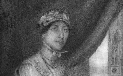 Portrait of Jane Austen, 1815