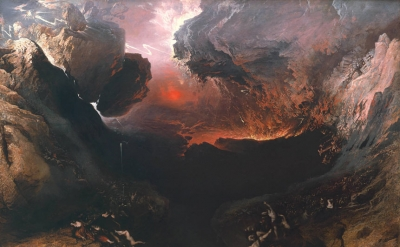 John Martin's The Great Day of His Wrath (1851-3) (detail), Photograph: Tate Bri