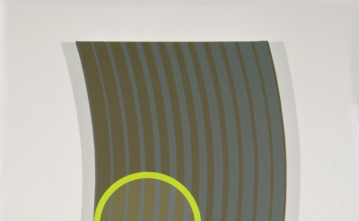 John Pearson, Oscillation/Fluctuation Series #18, 2011, Acrylic on canvas, 72 x