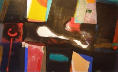 Patrick Jones, Azura, acrylic on canvas, 2010, 6 x 8 ft (courtesy of the artist)