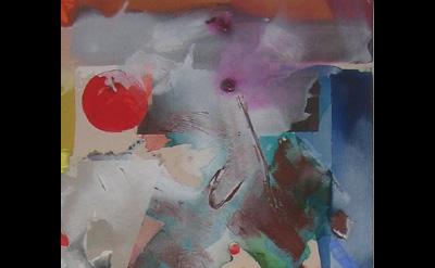 Patrick Jones, Moby, 2014, 176 x 60cm, acrylic on canvas (courtesy of the artist