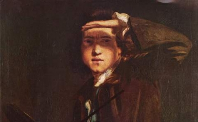 Sir Joshua Reynolds, Self Portrait, oil on canvas, circa 1747-1749 (National Por