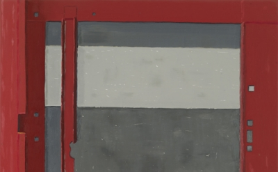 Josephine Halvorson, Generator, 2011, Oil on linen, 34 x 28 inches (courtesy Sik