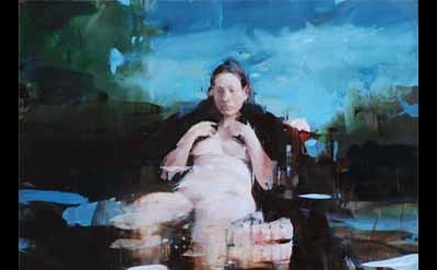 Alex Kanevsky, Painting for Velazquez, 36 x 36, oil on wood, 2010 (courtesy of t