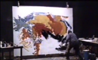 Video Capture: Karel Appel in studio
