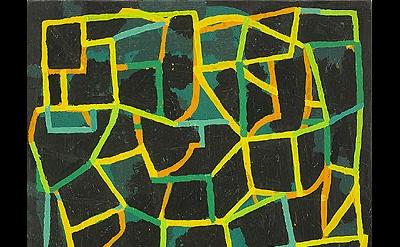 Jason Karolak, Untitled (P-1112), 2011, oil on linen, 15 x 13 inches (courtesy o