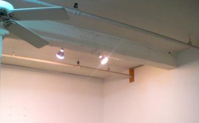 Studio of painter Katherine Bradford (photo: Maria Calandra)