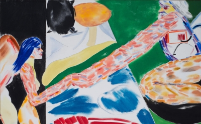 Painting by R.B.Kitaj (courtesy of Marlborough Contemporary)