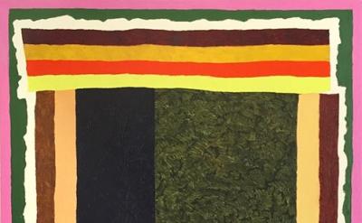 Matt Kleberg, Do What Say Do, 2015, 59 x 44 inches, oil stick on canvas (courtes