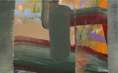 Julian Kreimer, 16 Packets, 2010-12, oil on linen, 19 x 19 inches (courtesy of t