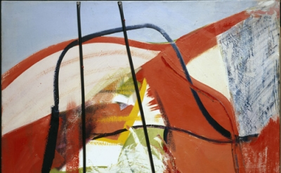 Peter Lanyon, Glide Path, 1964, oil and plastic on canvas, 60 x 48 inches (court