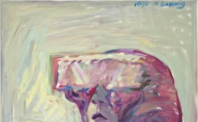 Maria Lassnig, Small Science Fiction Self-Portrait, 1995 (courtesy of the artist