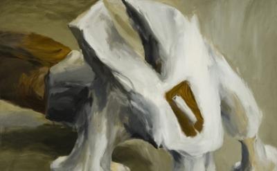 Lee Lozano, No title, 1963, oil on canvas, 65 x 80 inches