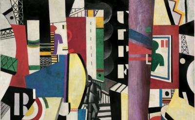 Fernand Léger, The City, 1919 (courtesy Philadelphia Museum of Art, A.E. Gallati