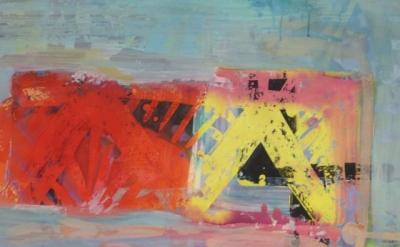 Painting by Meg Lipke, photo: Austin Thomas (courtesy of the artist)
