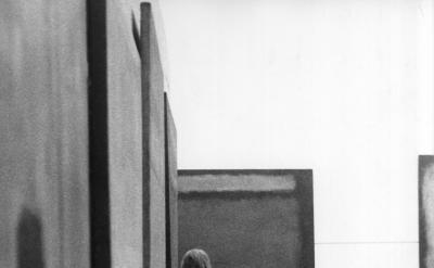 Sandra Lousada, Photo of the exhibtion Mark Rothko at the Whitechapel Gallery, 1