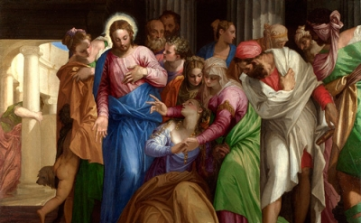 Veronese, The Conversion of Mary Magdalene, 1548, oil on canvas (© The National