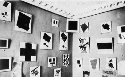 Kasimir Malevich, Last Futurist Exhibition of Paintings 0.10, Dobychina Art Bure