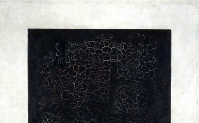 Kazimir Malevich, Black Square on a White Ground, 1915, oil on linen, 79.5 x 79.